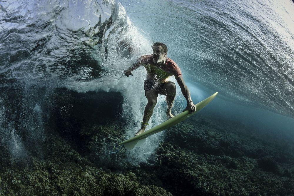 صورة بعنوان Donavon At Cloud Break للمصور رودني بورسيل، الحائزة على المرتبة الثالثة في فئة الرياضة