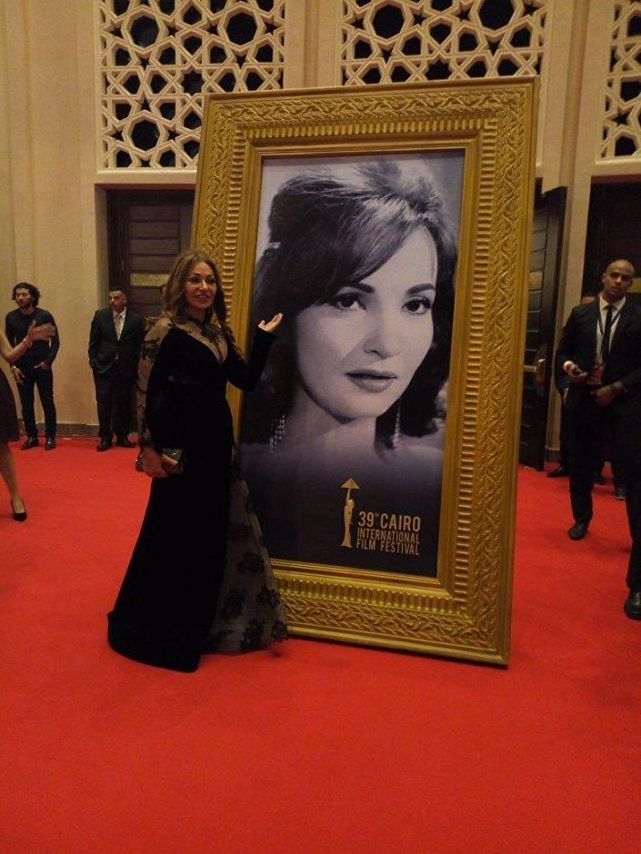ليلى علوي في افتتاح مهرجان القاهرة السينمائي