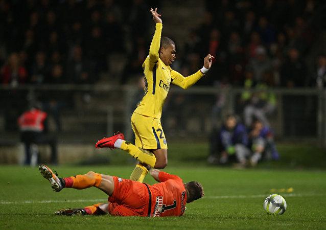 اللاعب الفرنسي كيليان مبابي