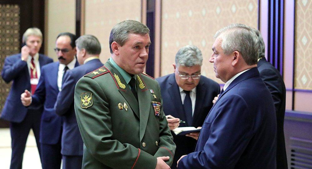 رئيس الأركان الروسي فاليري غيراسيموف