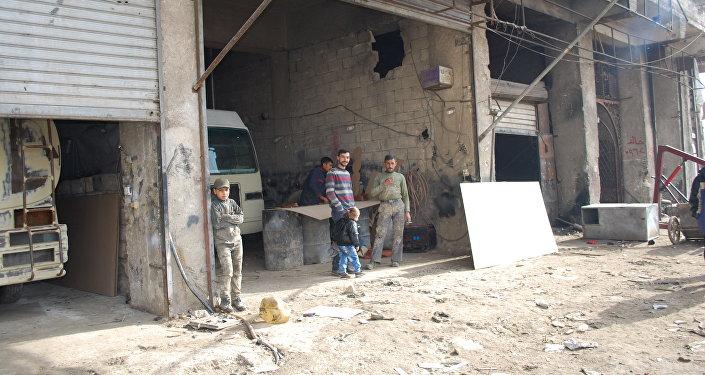 مدنيين في سوريا