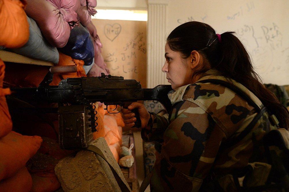 قناصة في الجيش السوري، ريف دمشق