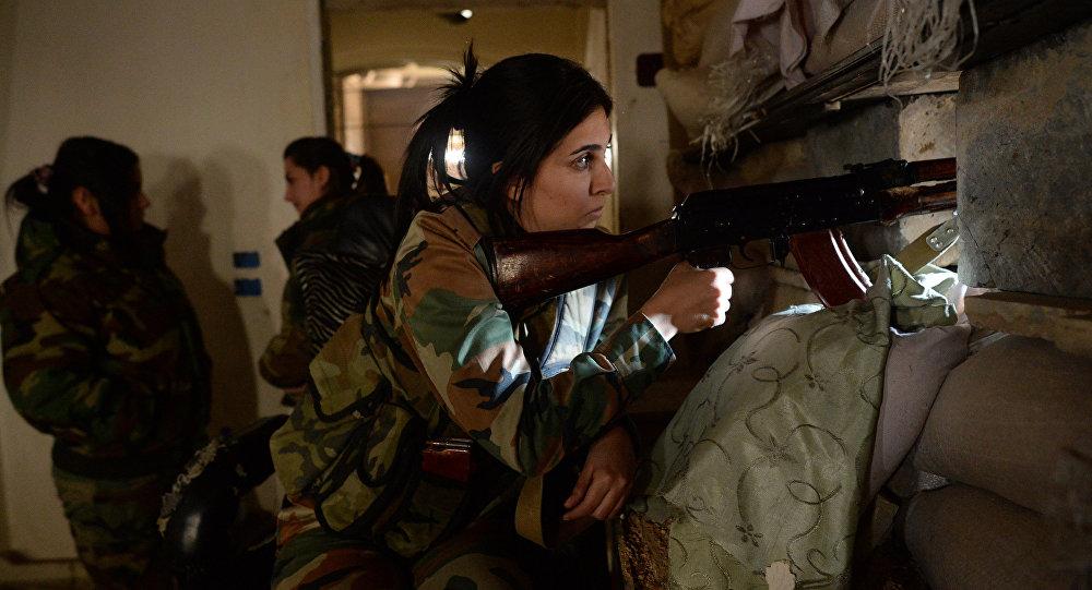 قناصة الجيش السوري