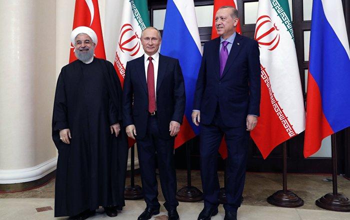 بوتين يلتقي أردوغان وروحاني 16 سبتمبر في إطار القمة الثلاثية حول سوريا