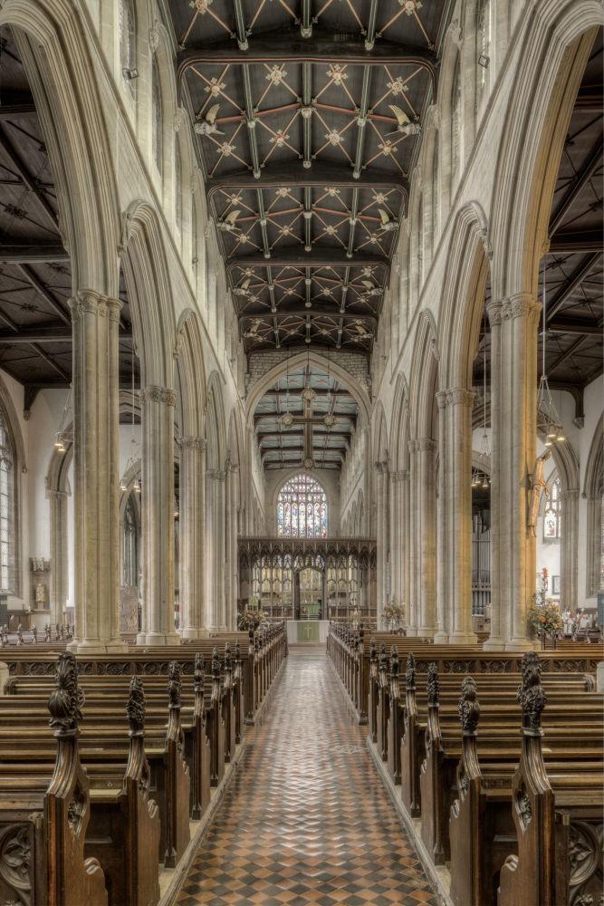 مسابقة التصوير التاريخي لهذا العام (Historic Photographer of the Year) - صورة بعنوان كنيسة القديسة مجدولين، للمصور بيتر ماسون