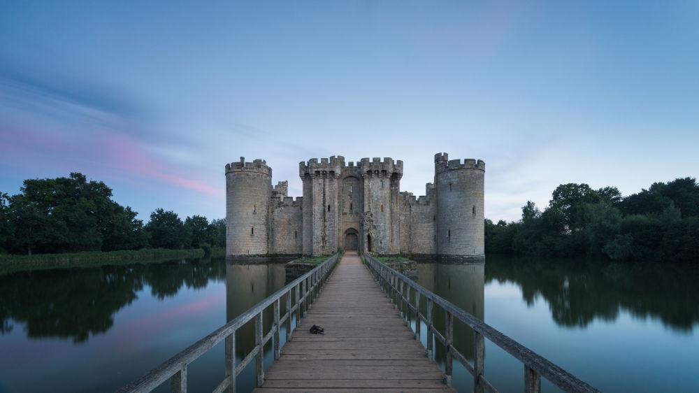 مسابقة التصوير التاريخي لهذا العام (Historic Photographer of the Year) - صورة بعنوان قلعة بوديوم، للمصور ستيف أولدفيلد