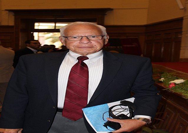 الدكتور محمد صوان العالم المصرى وأستاذ الطاقة النووية بجامعة وسكانسن بالولايات المتحدة الأمريكية