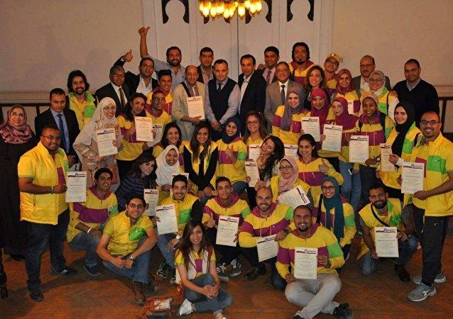 تكريم روسي لشباب مصر
