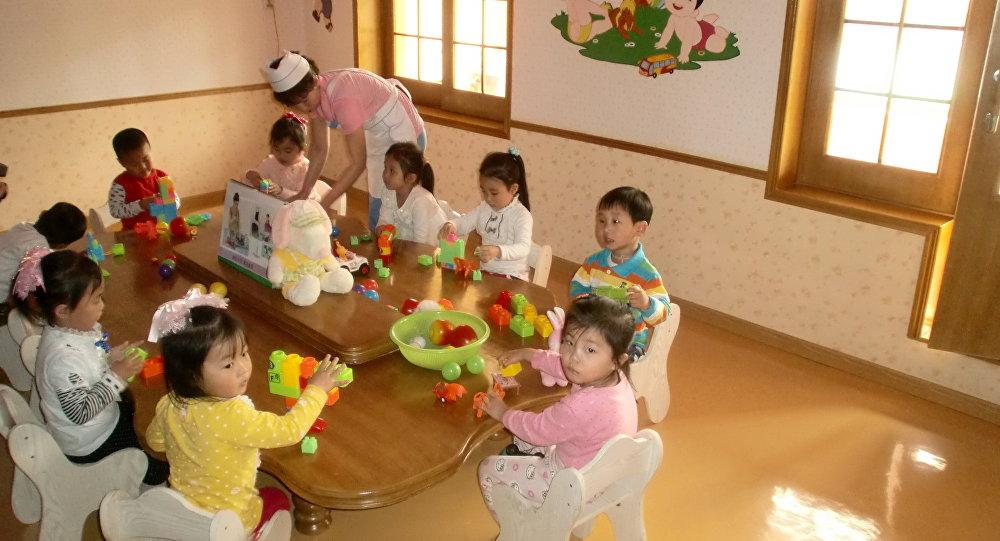 روضة أطفال في الصين