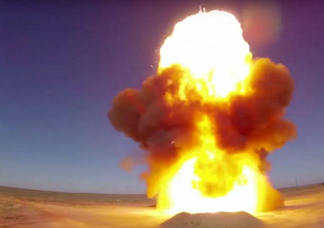 تجربة ناجحة لإطلاق صاروخ مطوَّر من طراز 53تي6 في الحقل العسكري ساري شاغان في كازاخستان