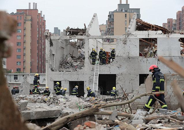 الانفجار في الصين