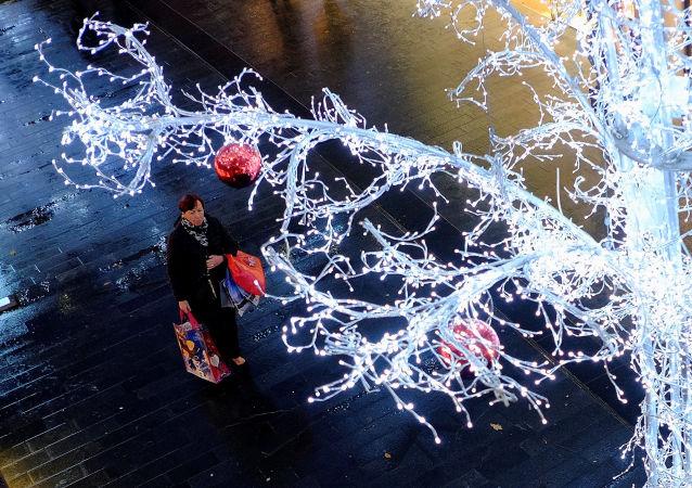 التحضيرات - الاحتفال - عيد الميلاد المجيد - رأس السنة، ليفربول، بريطانيا