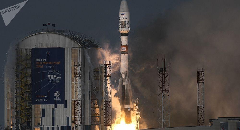 إطلاق حاملة صواريخ سويوز-2.16 من محطة فوستوتشني