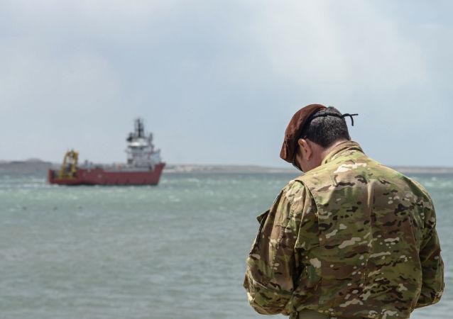 أعمال إنقاذ الغواصة الأرجنتينية سان خوان