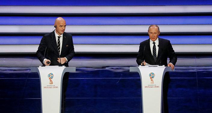 بوتين يفتتح قرعة كأس العالم
