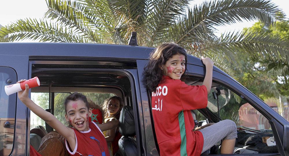 Les fans du Maroc