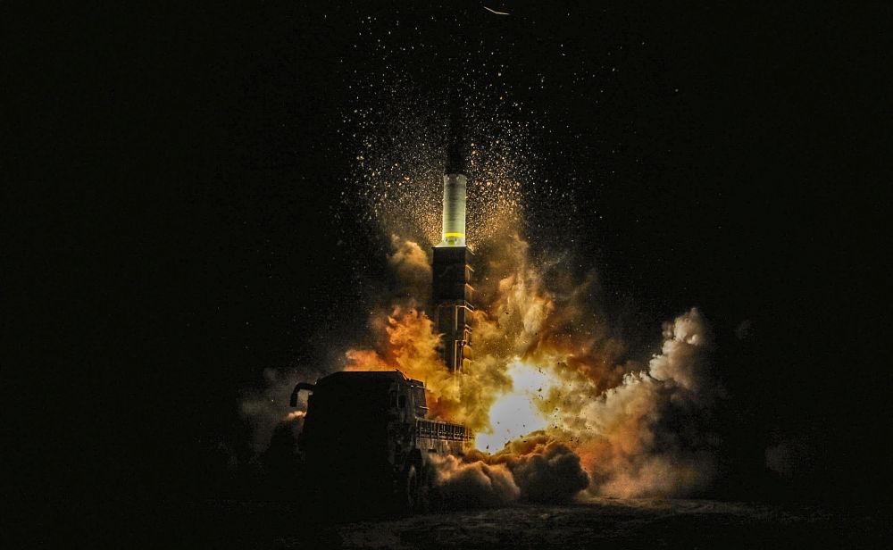 إطلاق صاروخ كوريا الجنوبية هيونمو الثاني