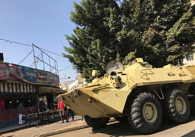 آليات تابعة لأنصار الله في اليمن