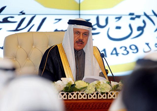 القمة الخليجية - الأمين العام لمجلس التعاون لدول الخليج العربية عبد اللطيف بن راشد الزياني، الكويت 5 ديسمبر/ كانون الأول 2017