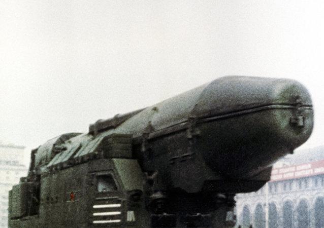 صاروخ بالستي استراتيجي