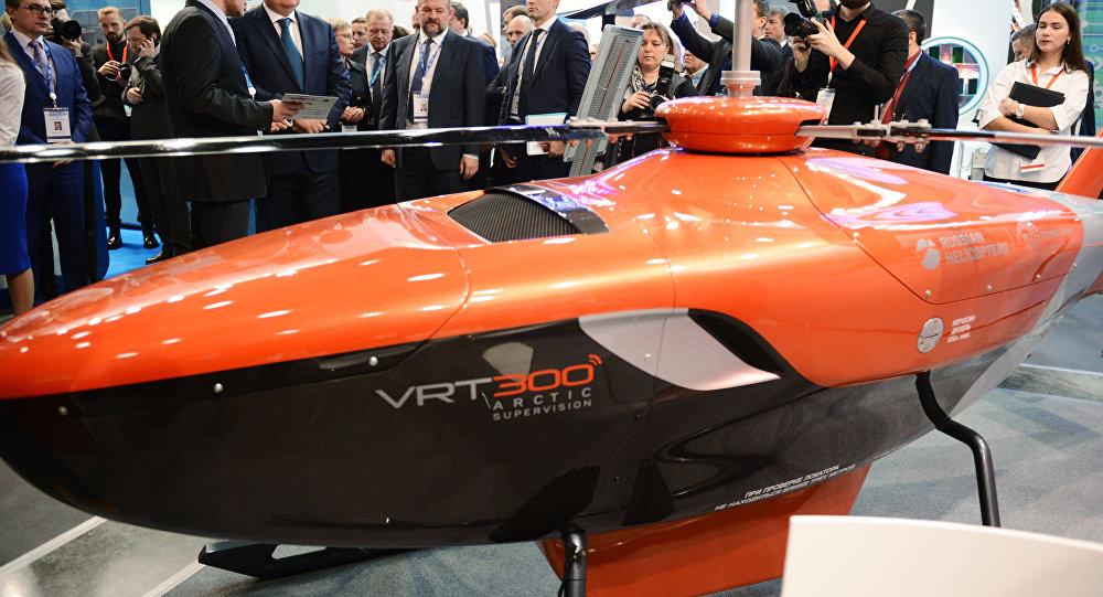 """شركة """"مروحيات روسيا"""" تعرض المروحية بدون طيار """"VRT300"""" 1028154837"""