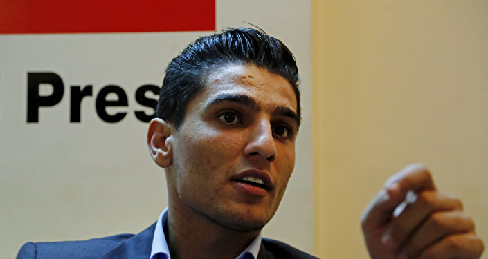 المطرب الفلسطيني محمد عساف