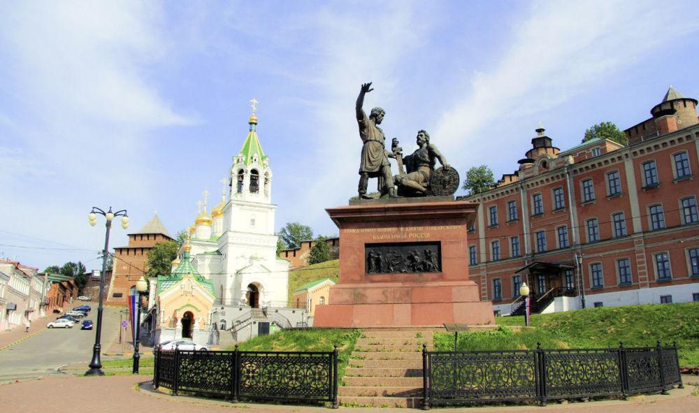 النصب التذكاري لـ مينين وبوجارسكي في نيجني نوفغورود