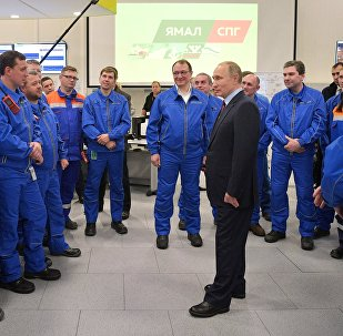 بوتين يدشن يامال أكبر مشروع للغاز الطبيعي في المنطقة القطبية الشمالية