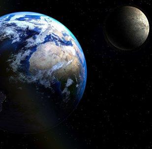 كوكب الأرض والقمر