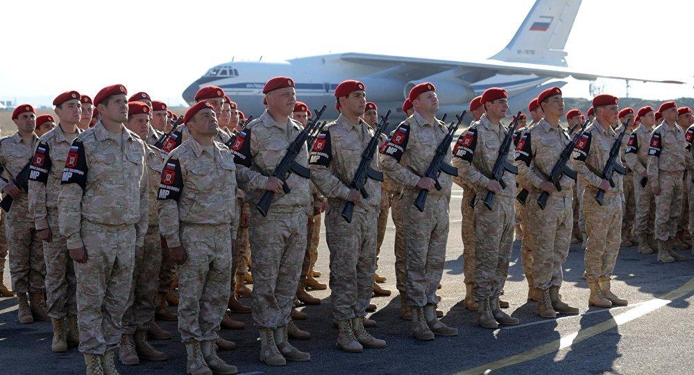 الرئيس فلاديمير بوتين في القاعدة حميميم، سوريا 11 ديسمبر/ كانون الأول 2017