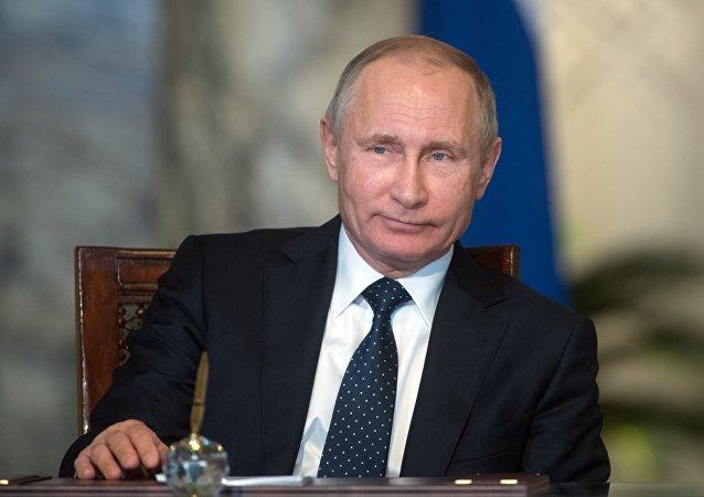 الرئيس الروسي فلاديمير بوتين والرئيس المصري عبد الفتاح السيسي في مصر، 11 ديسمبر/ كانون الأول 2017