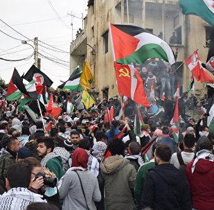 استنكار شعبي واسع في لبنان احتجاجا على قرار ترامب