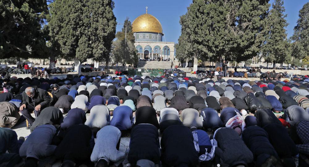 المسلمون الفلسطينيون في القدس