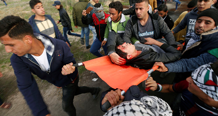 إصابات بين الفلسطينيين في قطاع غزة