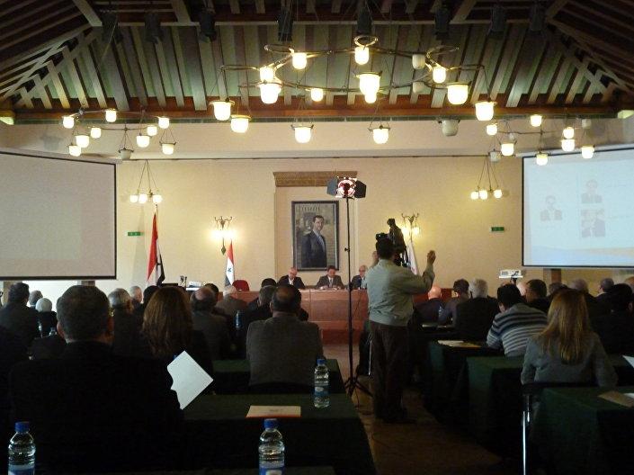 المؤتمر الاقتصادي الأول بجامعة دمشق