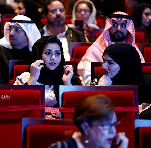 سعوديات خلال تجمع في الرياض