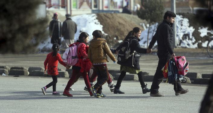 الوضع بعد الهجوم على مركز التدريب الاستخباراتي الأفغاني في كابول، أفغانستان 18 ديسمبر/ كانون الأول 2017