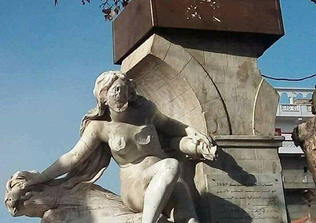 تمثال عين الفوارة شمال الجزائر
