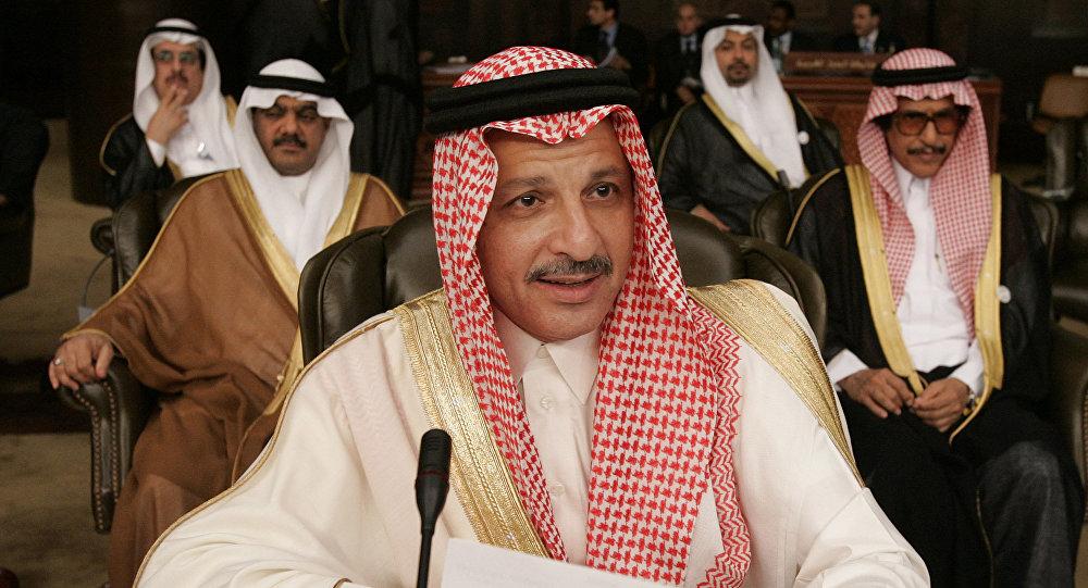 أحمد القطان في ختام أعمال القمة العربية بدمشق 2008