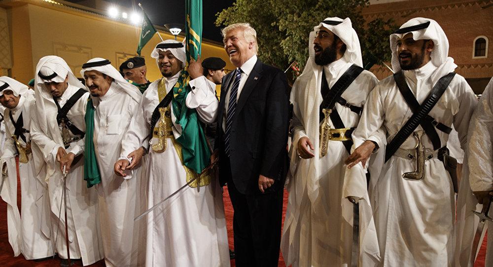 الرئيس الأمريكي دونالد ترامب في السعودية