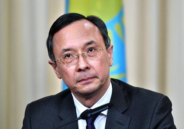 وزير الخارجية الكازاخستاني خيرت عبد الرحمنوف