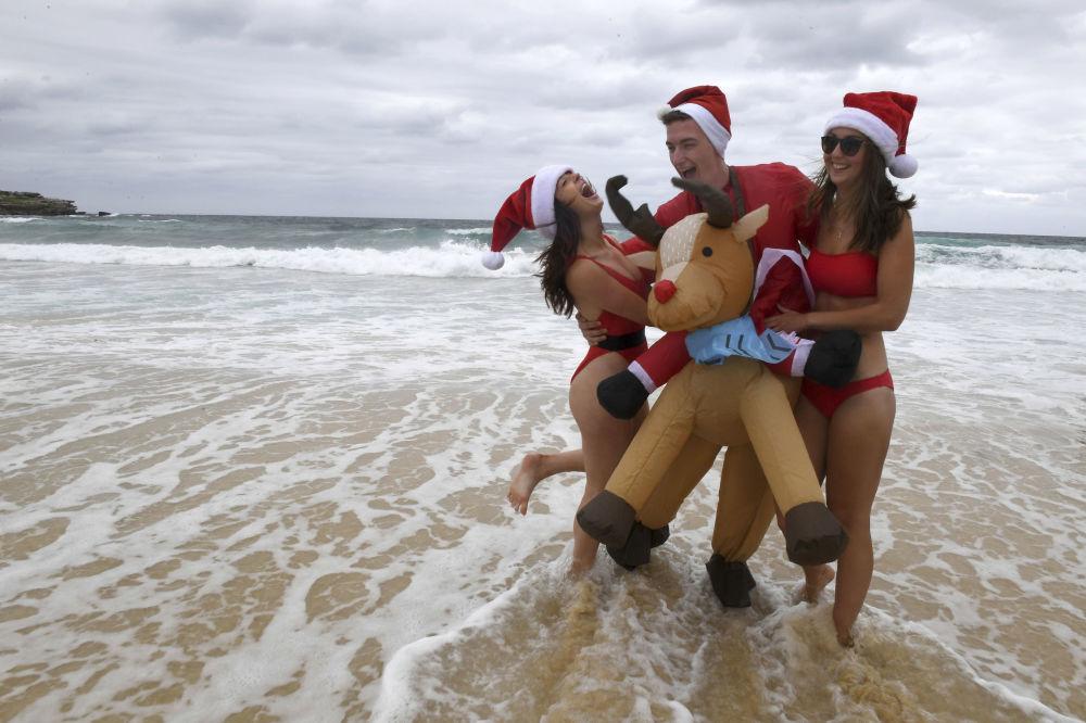 الاحتفالات بعيد الميلاد المجيد - سيدني، أستراليا 25 ديسمبر/ كانون الأول 2017
