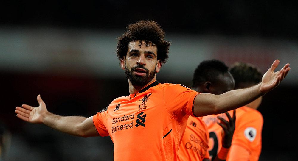 محمد صلاح مع فريق ليفربول