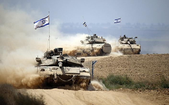 دبابة ميركافا الإسرائيلية