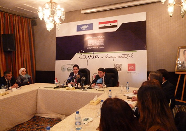 مدير الترويج والتسويق في وزارة السياحة السورية بسام بارسيك