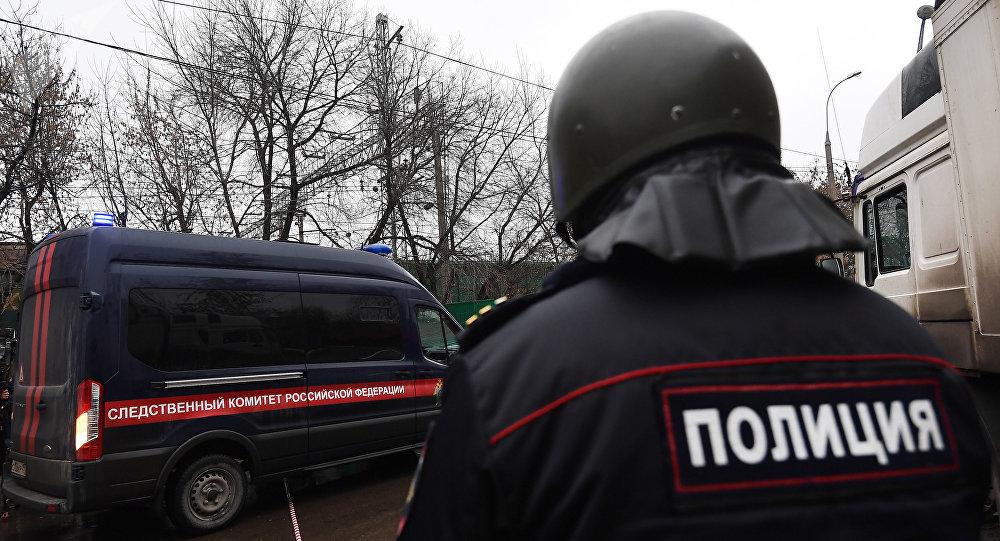 الشرطة الروسية من موقع الحدث - إطلاق نار واحتجاز رهائن في شركة جنوب موسكو، روسيا 27 ديسمبر/ كانون الأول 2017