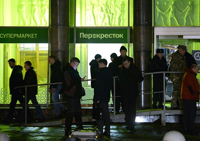 انفجار متجر في سان بطرسبرغ 27-12-2017