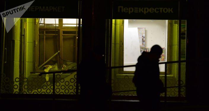 الانفجار في سان بطرسبورغ، روسيا