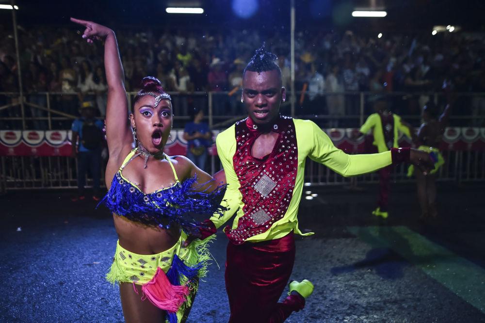 مهرجان رقص السالسا في كالي، كولومبيا 25 ديسمبر/ كانون الأول 2017