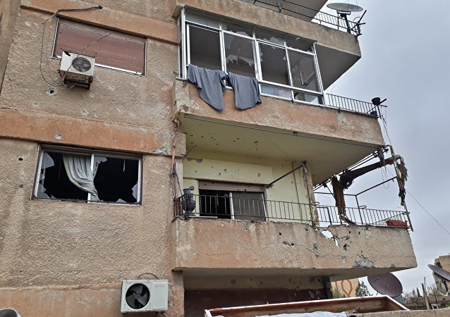 القذائف على ضاحية الأسد